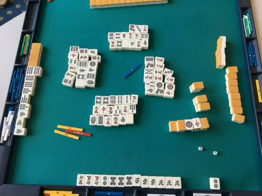 "Mahjong Tiles: 六六六➁➄➄➄西西西北北北➁ 666m2555p333444z2p — suuankou tankimatchi (""double"" Yakuman)"